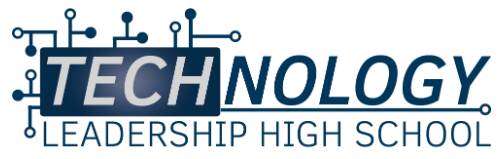 Technology Leadership High School Logo