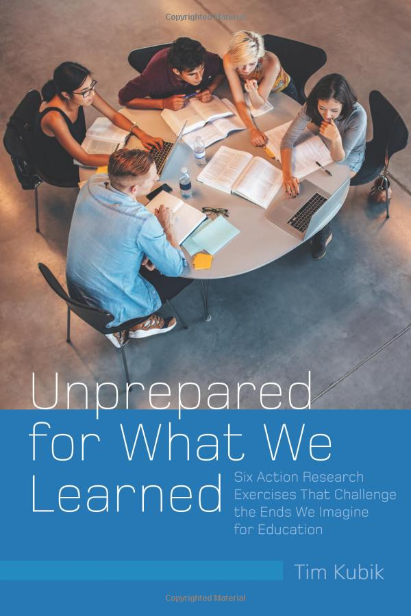 Unprepared For What We Learned book cover